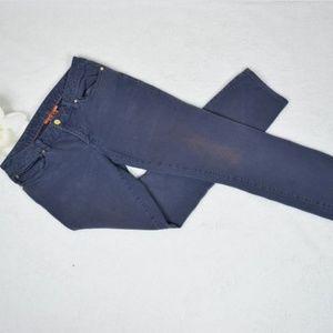 Tory Burch Grey Wash Ivy Super Skinny Jean Size:29